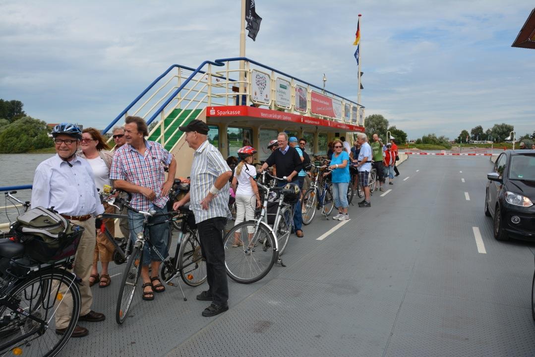 TCW-Fahrradtour-2014 – Es war eine (fast) runde Sache