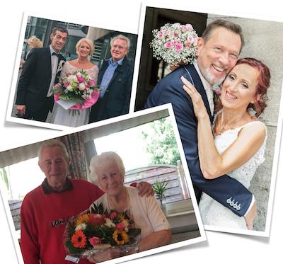 Hochzeiten u. 90. Geburtstag  2017