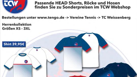 "Vereinskollektion TCW ""Aktionspreis 20€"""