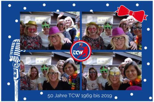 Jubiläum 50 Jahre TCW Fotobox