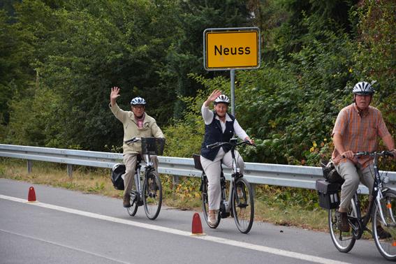 TCW-Fahrradtour-2013 – Der Weg ist das Ziel