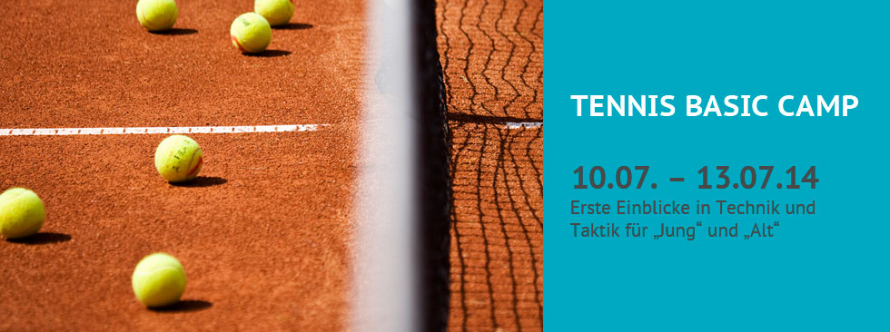 Tennis Basic Camp 2014