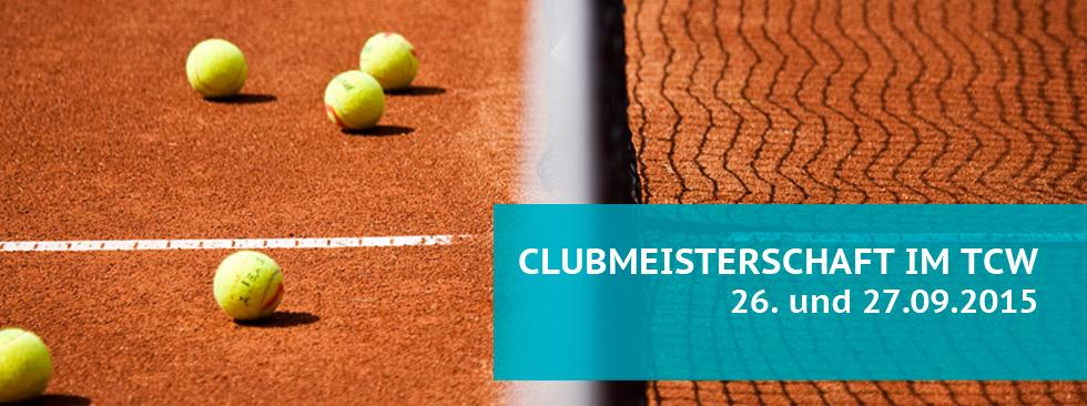 Clubmeisterschaft 2015