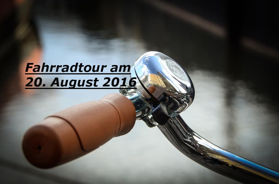 Radtour 2016