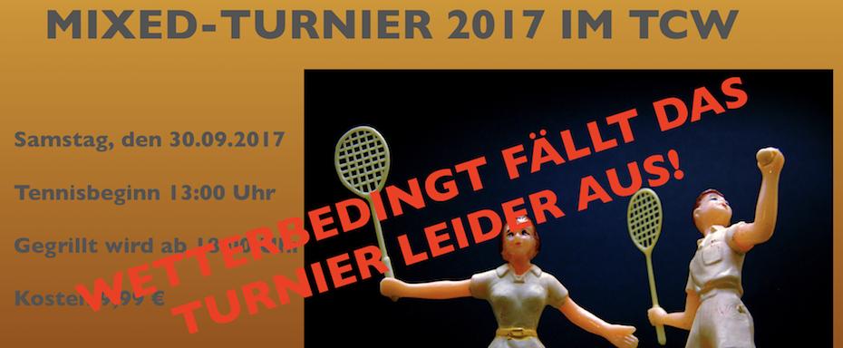TCW Mixed-Turnier 2017