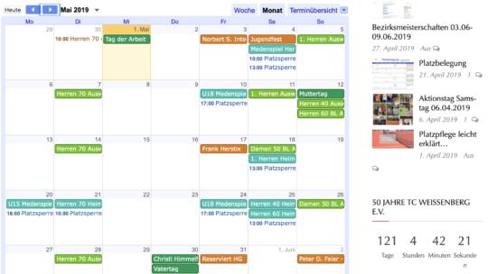 TCW Kalender